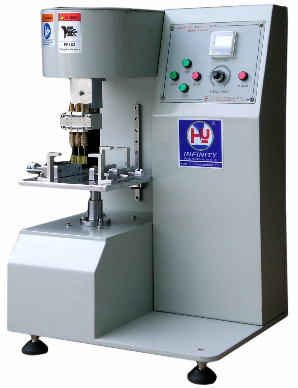 Single Spindle Electronic Universal Testing Machine For Small Products , 1 Year Warranty