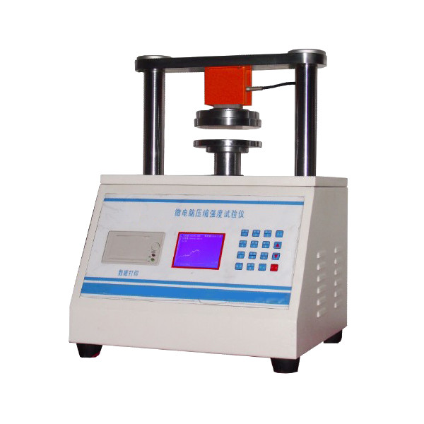 Paper and Board Compressive Strength Package Testing Equipment 0.1N Load resolution