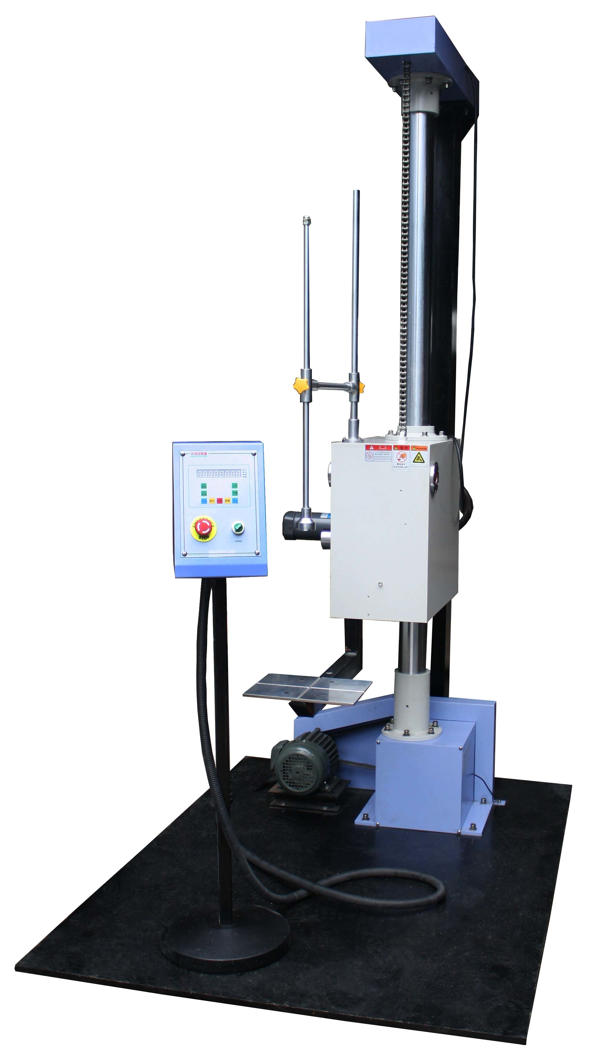 Single Arm Package Testing Equipment for Drop Test , 300~1500mm Hight